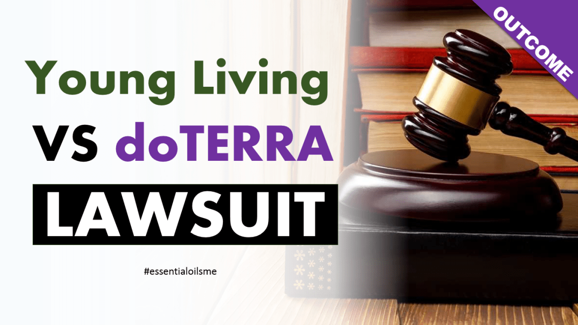 young living vs doterra lawsuit outcome