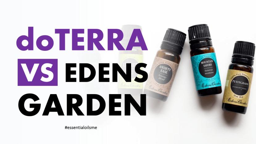 doterra vs edens garden essential oils