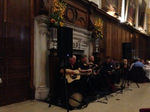 Traditional Irish music is a must on such an event in Dublin