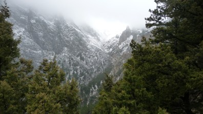A quick look at the entrance of Samaria Gorge