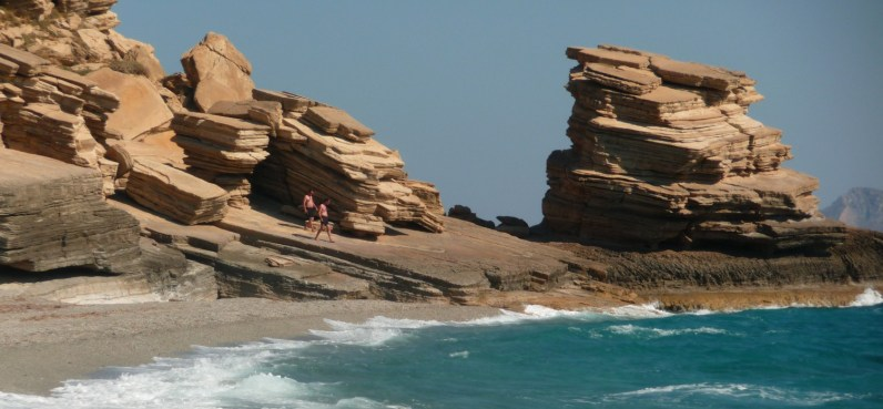 Amazing rocks at Triopetra