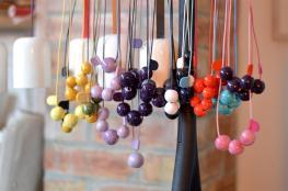 Naomipeli's BEADED ceramic jewelry