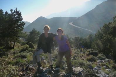 Janina Sorensen and Ildiko Berecz highly recharged