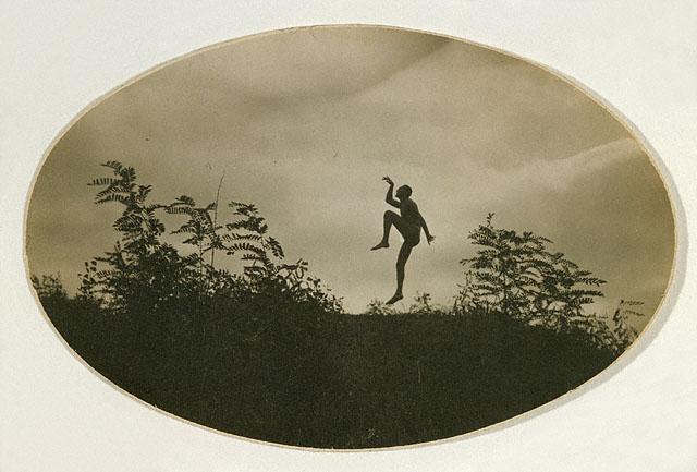 The Dancing Faun photographed by André Kertész