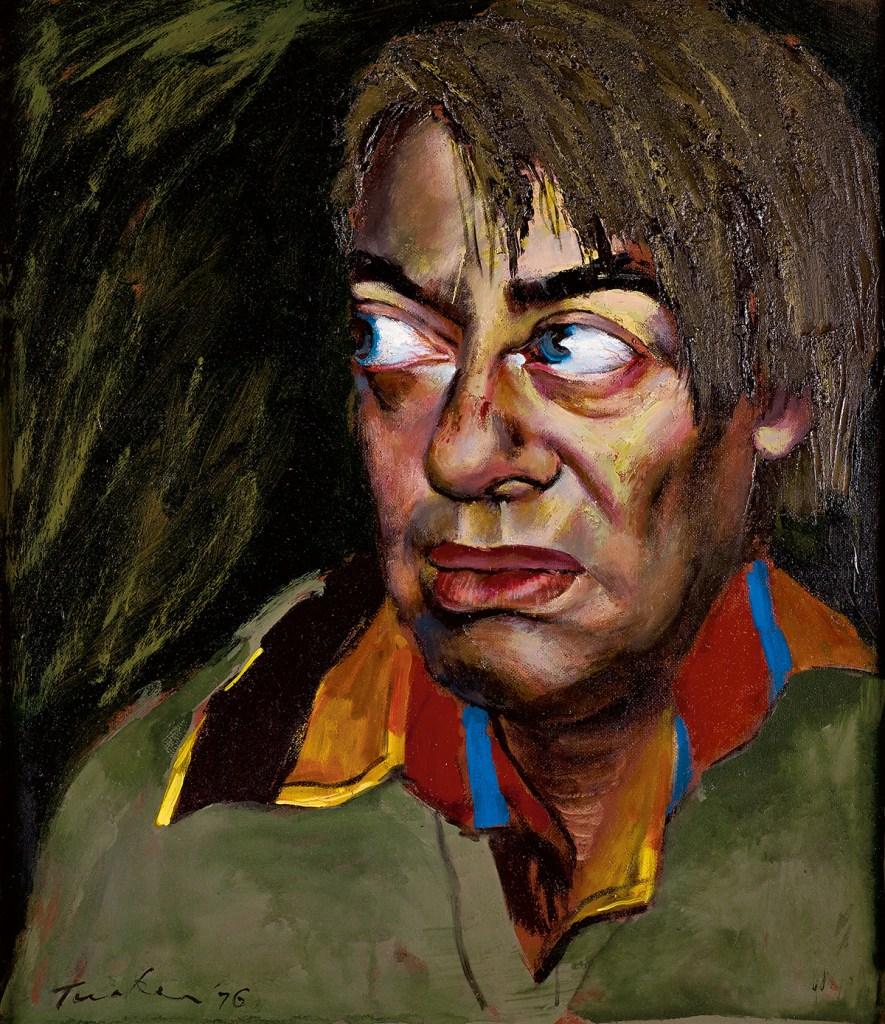 Albert Tucker - John Perceval, 1976