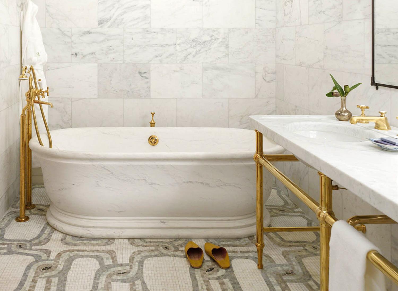 Greenwich Hotel Penthouse Bathroom