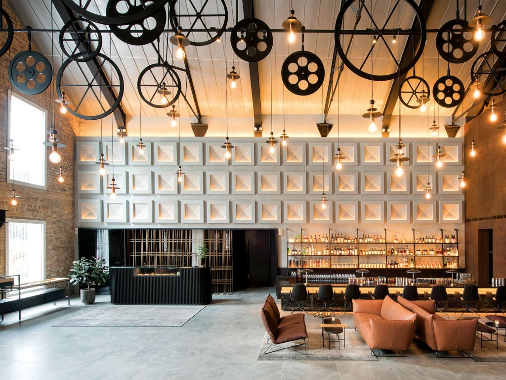 The Warehouse Hotel Lobby and Bar