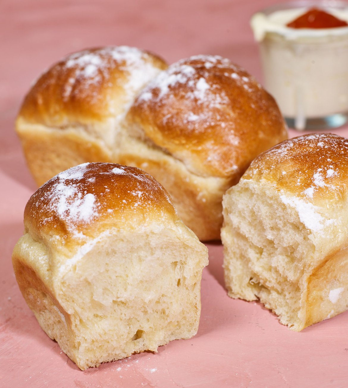 Brioche bread loaves are a great addition to any chef or home cook's repertoire