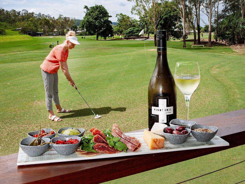 Lisa McGuigan Wines tasting at Whitsunday Green