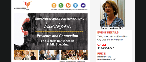 Event—Presence and Connection: The Secrets to Authentic Public Speaking