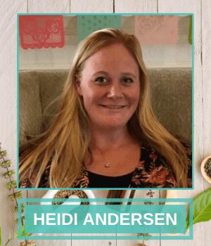 Massage Therapist - Heidi Andersen