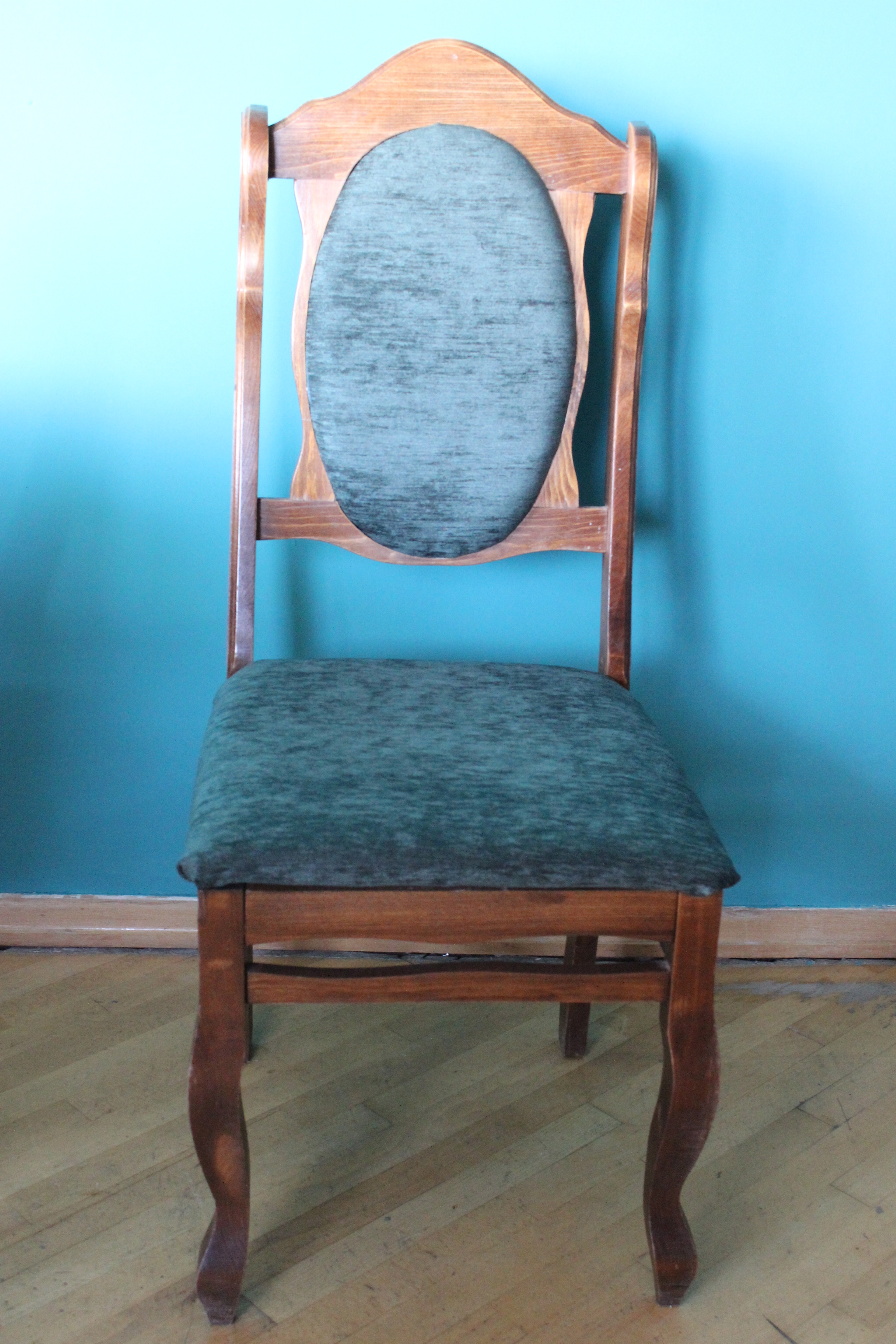 wishing chair photo frame hanging drawing diy project reupholstering old chairs