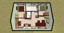 Small 2 Bedroom House Design