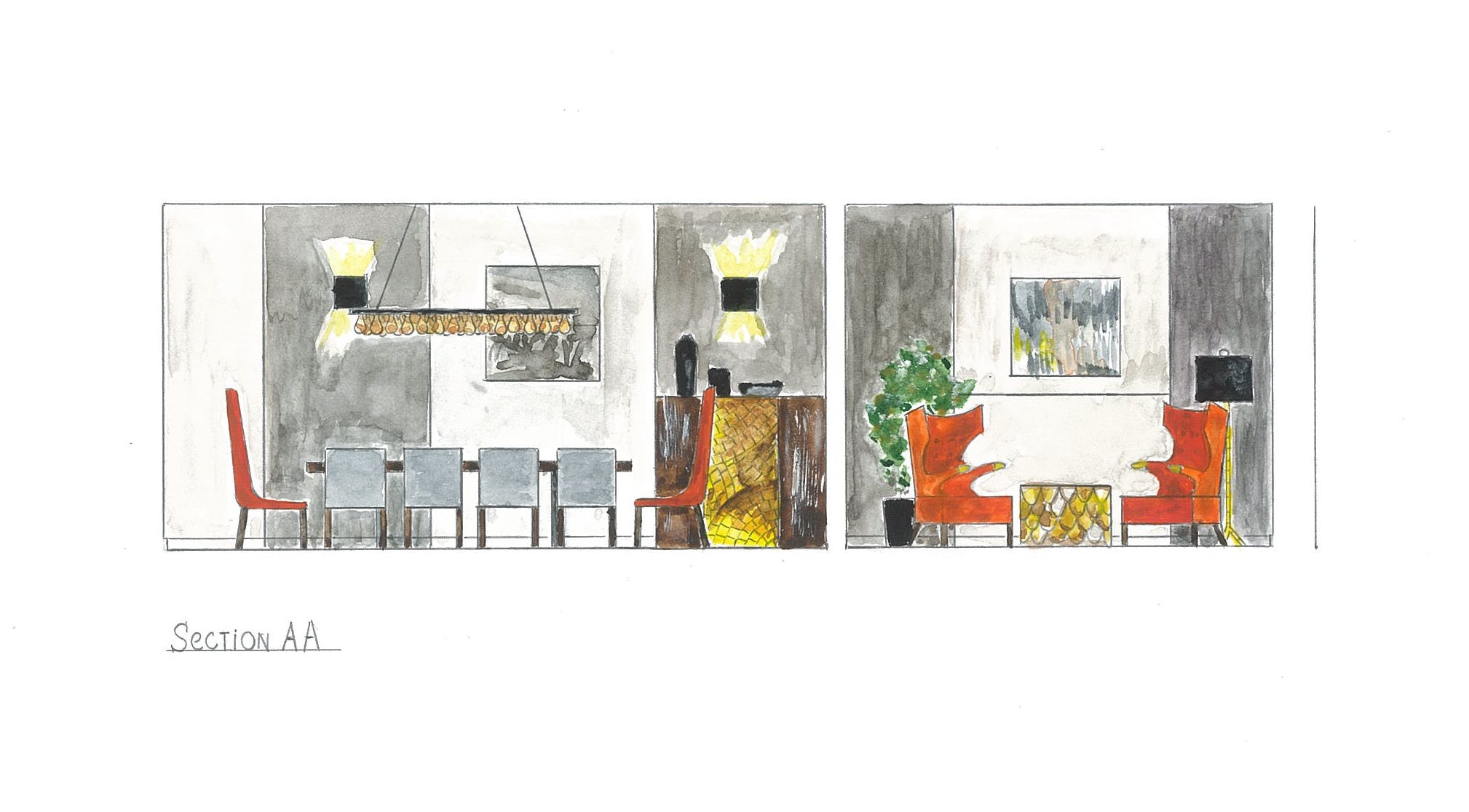 working as an interior designer check out my ebooks the first one is about history of interior styles second one is about marketing your interior design