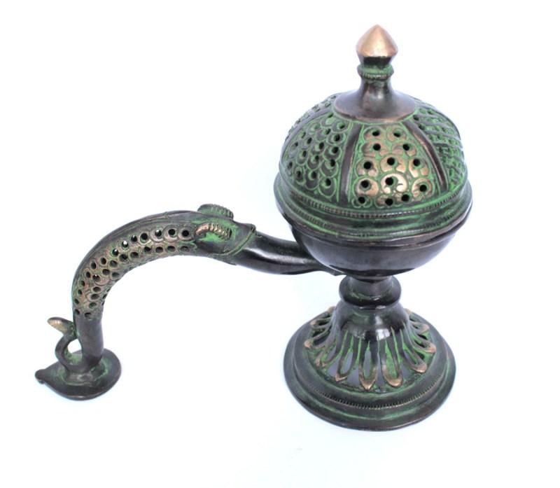 Antique Copper Incense Burner