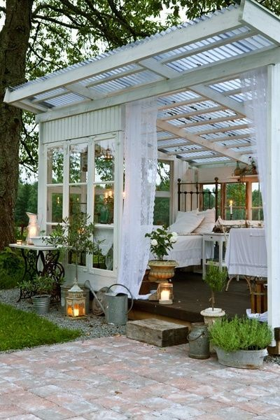 When it comes to outdoor tents as you see at outdoor events are a bit costlier than curtains but provide an excellent feeling of privacy. & Easy Ways to Make Your Yard More Private - L\u0027 Essenziale
