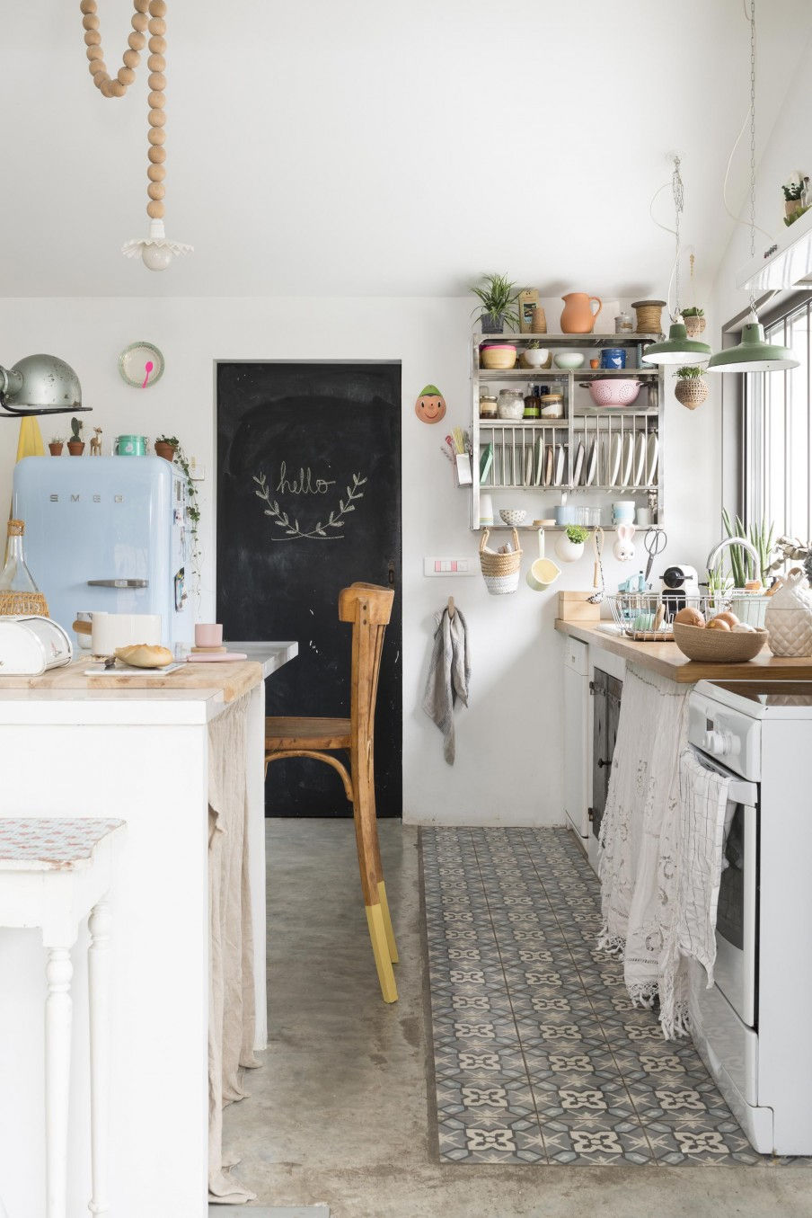 Pinterest Bohemian Kitchens