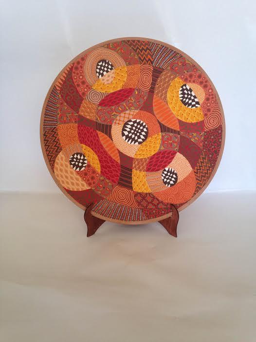 decorative plate 1