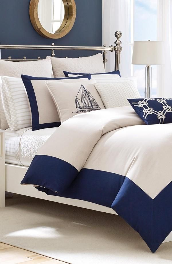 Create A Stunning Nautical Themed Bedroom  L' Essenziale