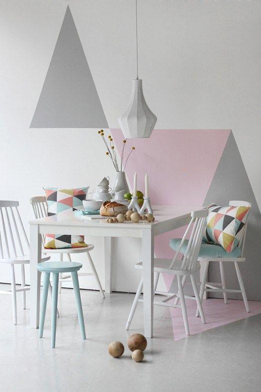 geometric wall decor