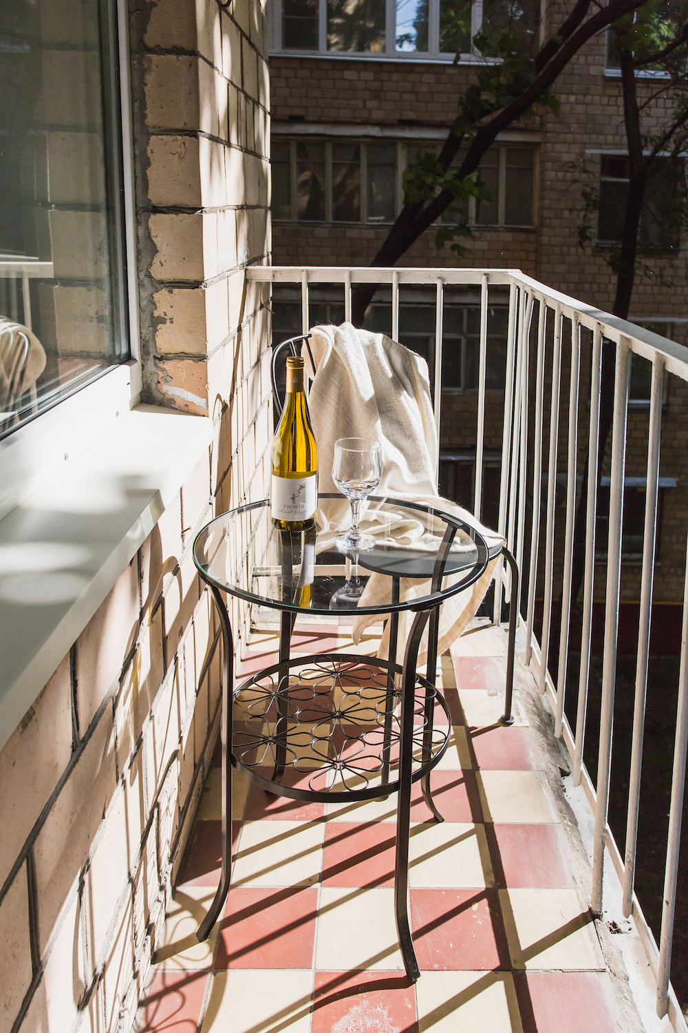 Ugly Apartment Balcony: Before And After: Recent Decorating Project