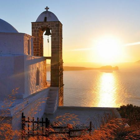 Chiesa Thalassitra - Isola di Milos - fotografia - cm. 45 x 30