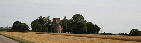 Little Bromley church photographed by Hugh Frostick
