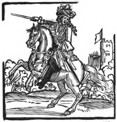 A late 17th century highwayman
