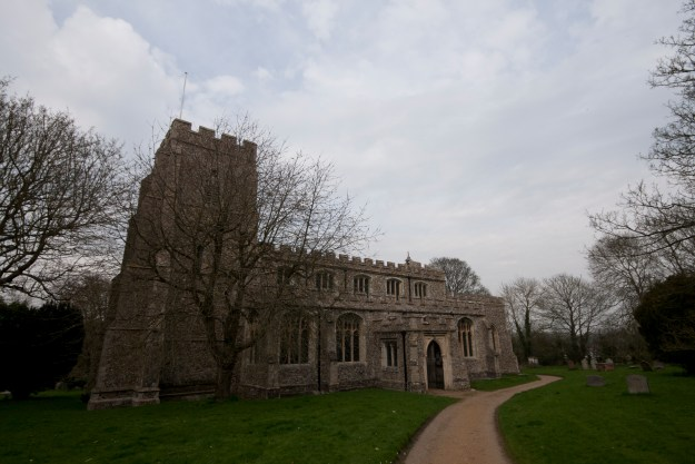 Clavering church