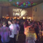 Gobo Projection by Essex Event Party DJs