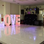 Wedding DJ from Essex Event setup