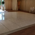 16ft x 16ft Starlight Floor Hire at Mulberry House by Essex Event