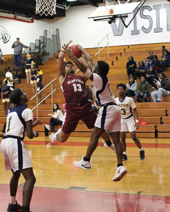 Bloomfield HS boys' basketball team tops Randolph to improve to 6-3