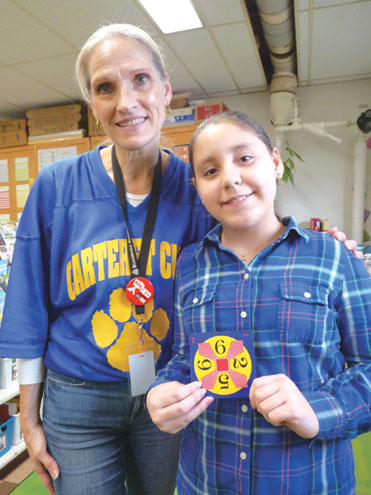 Carteret students in training for 'Challenge 24' 24'