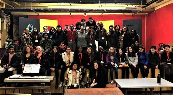 West Orange High drama students receive awards