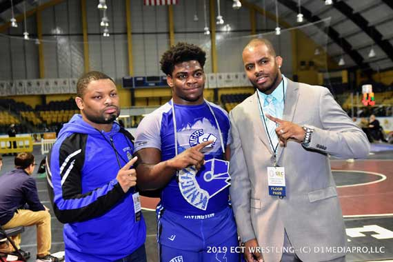 UPDATED: Irvington HS wrestler Nashawn Brooks advances to state finals in Atlantic City
