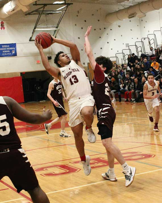 Bloomfield HS boys basketball team defeats Nutley on Senior Night