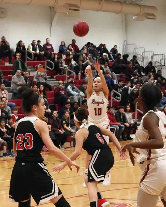 Bloomfield HS girls basketball team tops Kearny in North 1, Group 4 state tournament first round