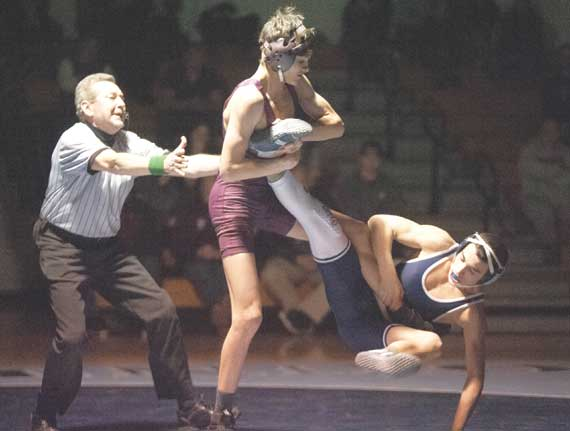 Nutley HS wrestling team enjoys solid 20-win season