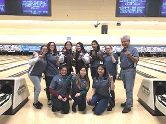 Nutley HS girls bowling team rolls to ECT championship victory