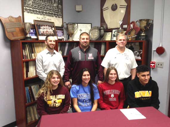 UPDATED No. 2: Nutley HS student-athletes sign with colleges