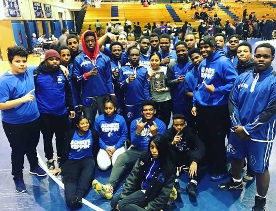 UPDATED: Irvington HS wrestling team wins NJ Urban League title, excels at District 10 tournament