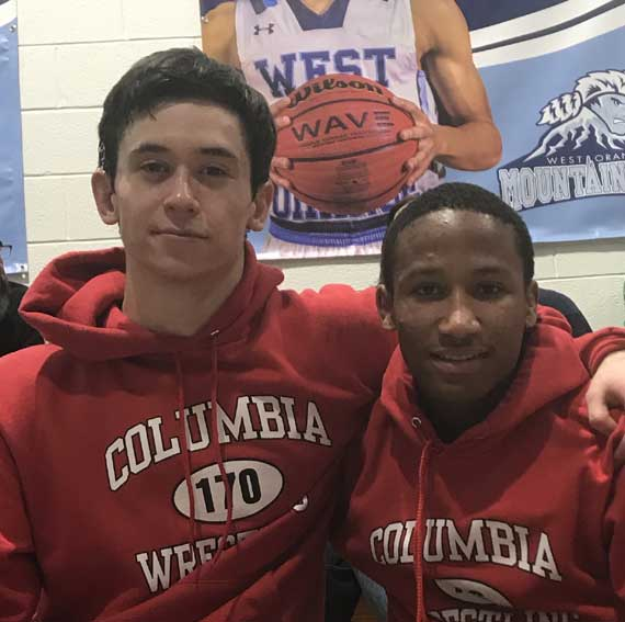 UPDATED: Columbia HS wrestlers Naquan Tory and Blake McGowan reach state finals in Atlantic City