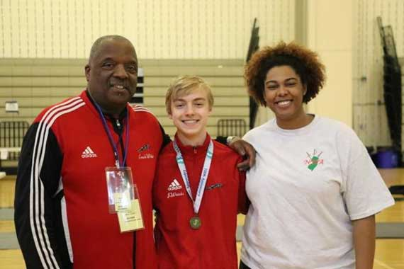 Columbia HS fencing teams end season with great state results; Jack Woods captures gold medal in boys foil