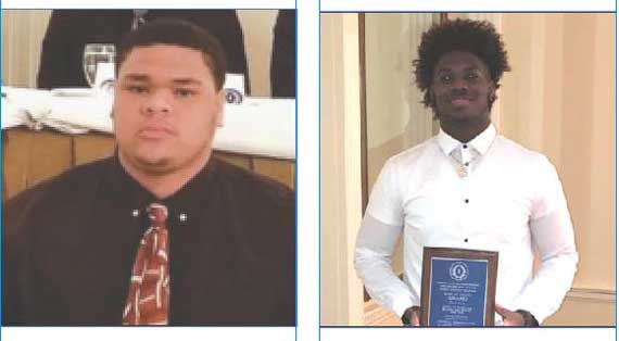 EOCHS and OHS football duo recognized as Scholar-Athletes