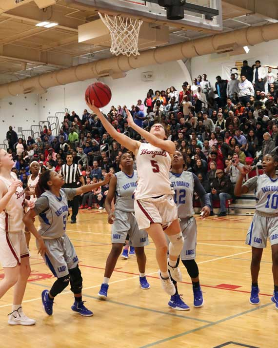 Bloomfield HS girls basketball team tops East Orange Campus to advance to North 1, Group 4 state final