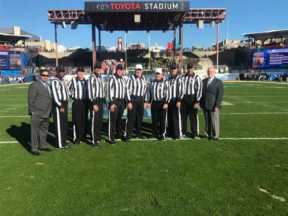 East Orange natives serve as game officials for NCAA FCS Football Playoffs