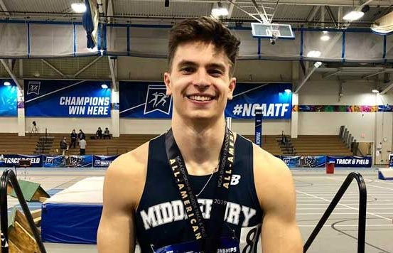 Jimmy Martinez leads Middlebury College track team to NCAA Division III Indoor National title in distance medley event