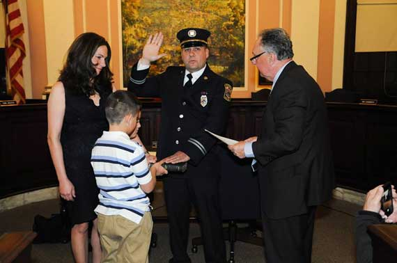 Maplewood firefighters promoted