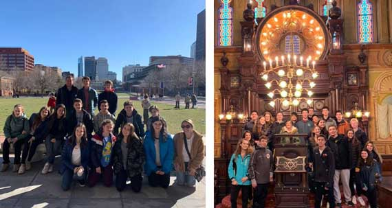 TSTI teen trips expose students to history of American Judaism